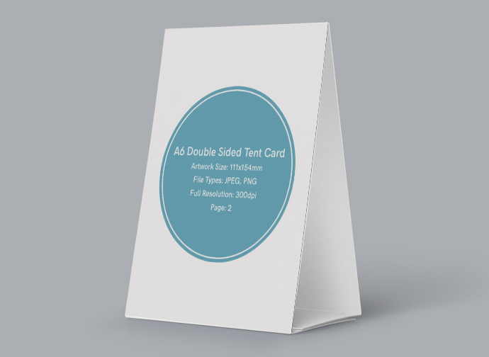 image relating to Printable Tent Card titled Tent Card Layout Glance Print Waiter